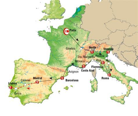 Viaje a Europa - España, Italia y Francia - 4TOURISTS