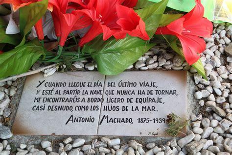 viaje a la provenza francesa tumba de antonio machado   DE ...