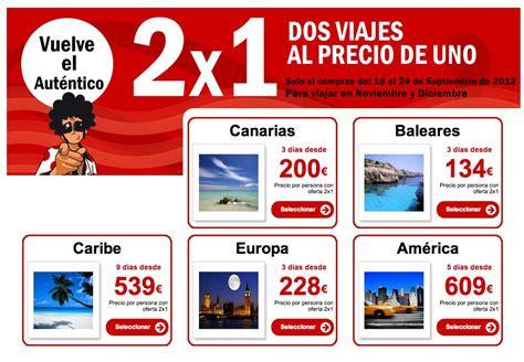 Viajes 2 x 1 en Pepe Travel