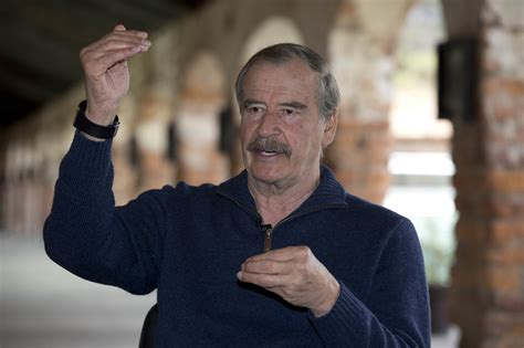 Vicente Fox, former president of Mexico and sharp critic ...