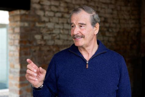 Vicente Fox, Former President of Mexico, Has a Few ...