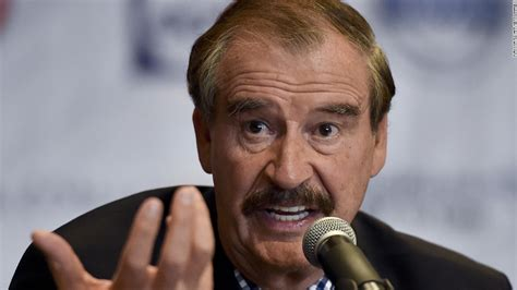 Vicente Fox: 'I'm not going to pay for that f***ing wall ...
