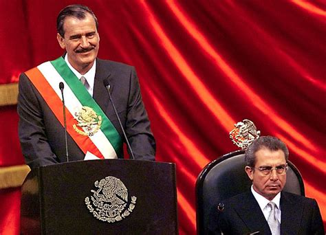 Vicente Fox | president of Mexico | Britannica.com