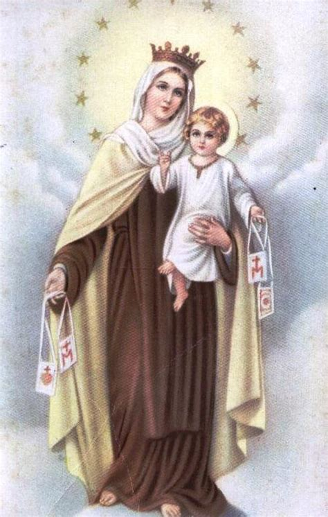 Vida Consagrada en Ourense: Virgen del Carmen