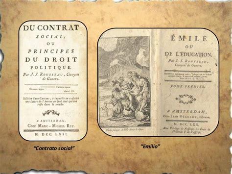 Vida y obras de rousseau