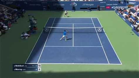 VIDEO - Andy Murray lands typically brilliant lob - US ...