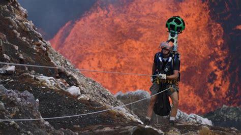 Vídeo: así se ve un volcán en erupción desde un dron