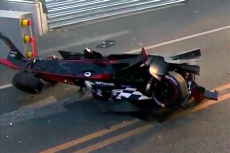 Vídeo: brutal accidente de Nick Heidfeld en la Fórmula E ...
