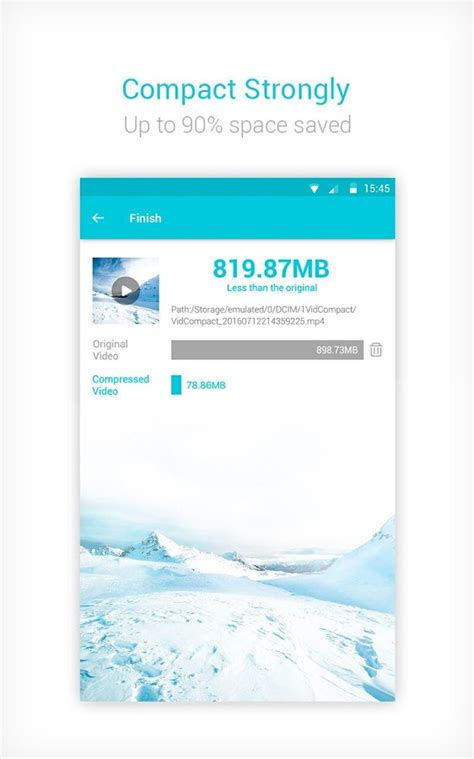 Video Converter, Video Compressor - VidCompact - Android ...
