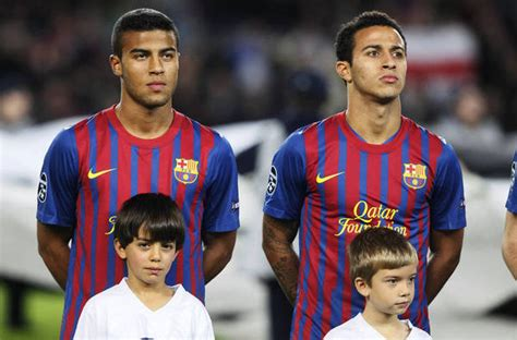 Video emerges of Thiago Alcantara & brother Rafinha ...
