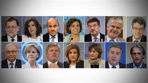 Vídeo: Este es el nuevo Gobierno de Mariano Rajoy | España ...