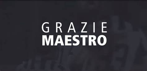 (((VIDEO))) Juventus: Grazie Maestro, Andrea Pirlo ...