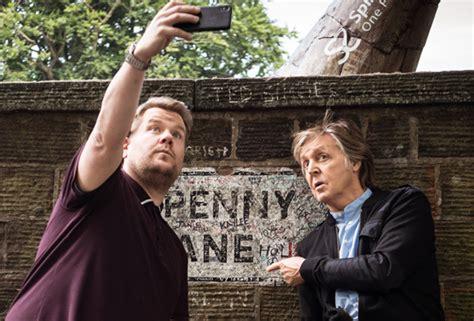 [VIDEO] Paul McCartney Sings Carpool Karaoke With James ...