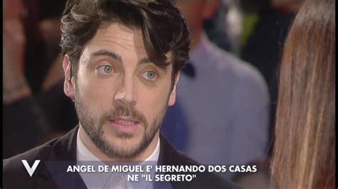 Video Verissimo: Angel De Miguel, il suo ruolo sul set ...