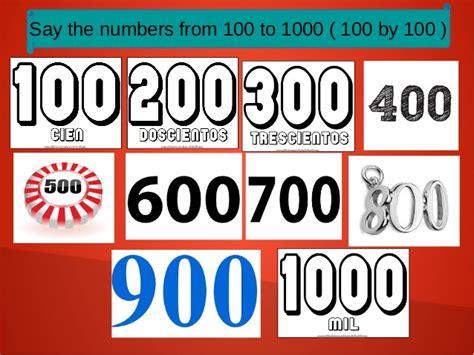 Videos De Numeros En Ingles 1 Al 1000 ...