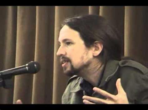 [Videos] Pablo Iglesias Turrión: algunas luces ...