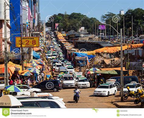 View Of Ciudad Del Este, Paraguay Editorial Stock Image ...