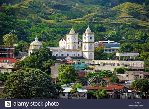 View of the city of Honda, Colombia, South America, Latin ...