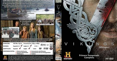 Vikings 1 temporada 1080p español latino english ...