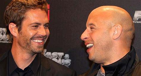 Vin Diesel confesó lo que le dijo la mamá de Paul Walker ...