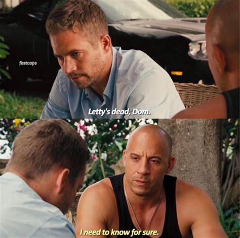 Vin Diesel Cuenta Qué Le Dijo La Mamá De Paul Walker Luego ...
