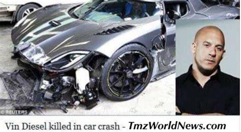 Vin Diesel Killed in Car Crash   TRENDING
