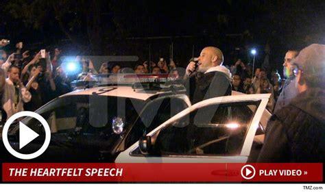 Vin Diesel llega al lugar donde Murio Paul Walter y dice ...