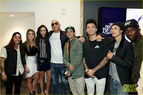 Vin Diesel & Nina Dobrev Kick Off 'xXx: Return of Xander ...