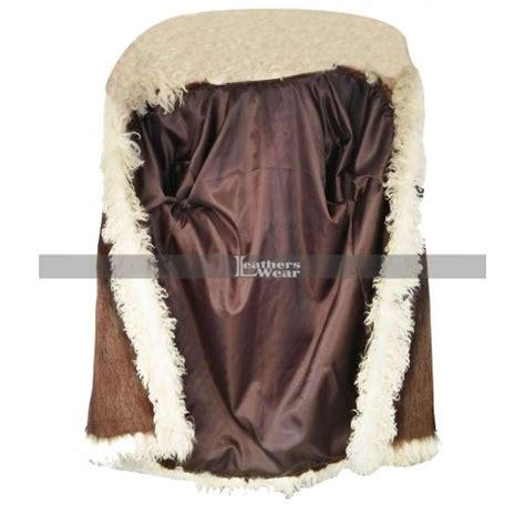 Vin Diesel xXx 3 The Return of Xander Cage Fur Brown Coat