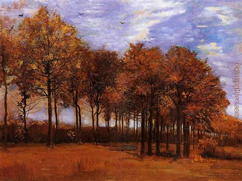 Vincent van Gogh Autumn Landscape painting anysize 50% off ...