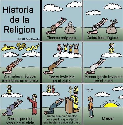 Viñeta resumiendo la historia de las religiones » Peor ...