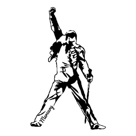 Vinilo Decorativo Freddie Mercury   Wallvi.com