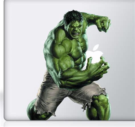 Vinilo decorativo Hulk La Masa Macbook - TenVinilo