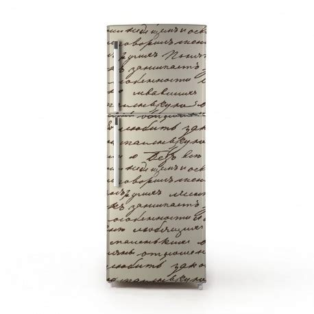 Vinilo Manuscrito para Frigorífico