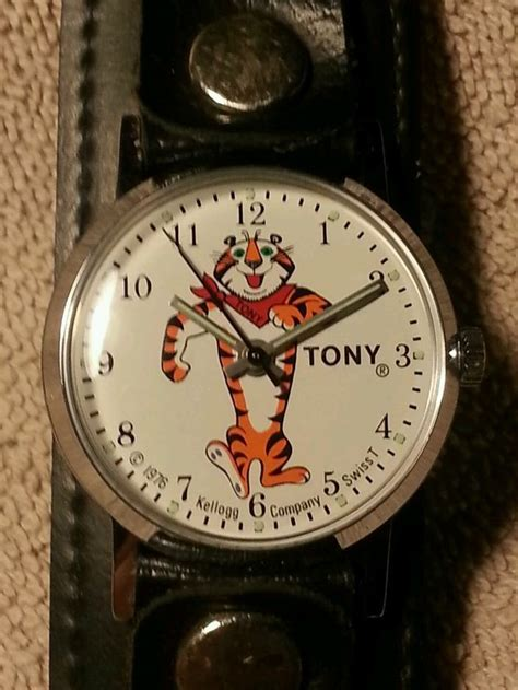 Vintage 1976 Tony Tiger watch. Premium to order off of the ...