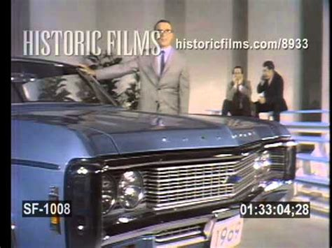 VINTAGE COMMERCIAL - CHEVROLET IMPALA - 1969 - YouTube