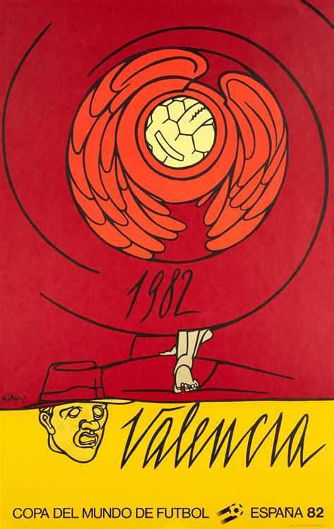 Vintage poster – Copa del Mundo de Futbol Espana 82 ...