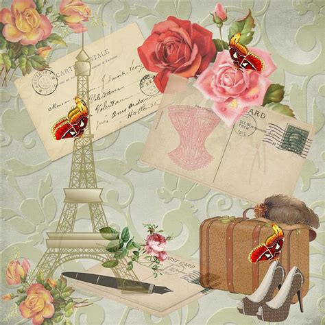 Vintage Victoriana De Papel · Imagen gratis en Pixabay