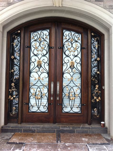 vintage Wrought iron doors - Wrought Iron Doors Design for ...