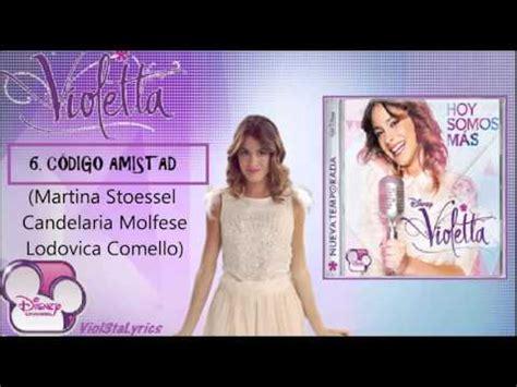 Violetta 2 CD  Hoy Somos Mas  Todas Las Canciones    YouTube