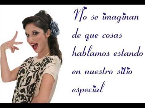 Violetta 2  Codigo Amistad  letra    YouTube