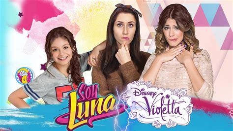 VIOLETTA VS. SOY LUNA \ 3..2..1... FIGHT! (Karol Sevilla ...