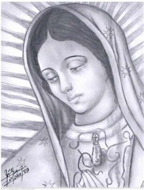 Virgen de Guadalupe: dibujo rosa de Guadalupe | Opus Dei ...