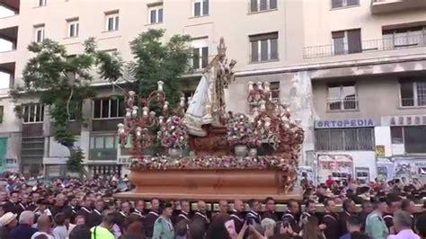 VIRGEN DEL CARMEN DEL PERCHEL, Málaga 2015 - YouTube