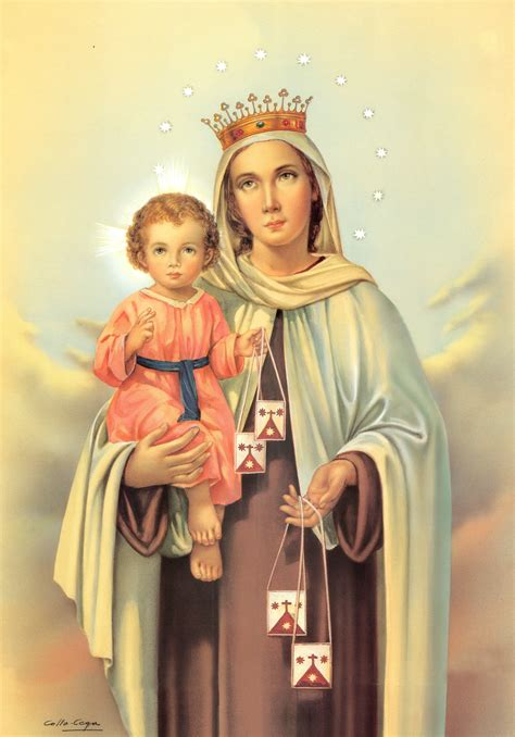 Virgen del Carmen (Imagen Alta Resolución) - UnCatolico.com
