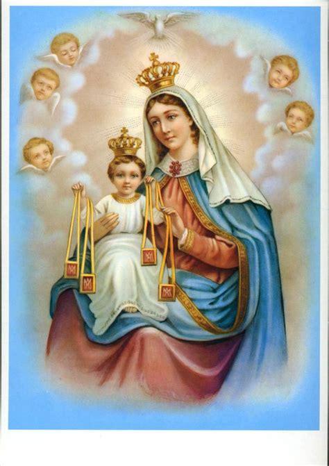 Virgen del carmen - Imagui