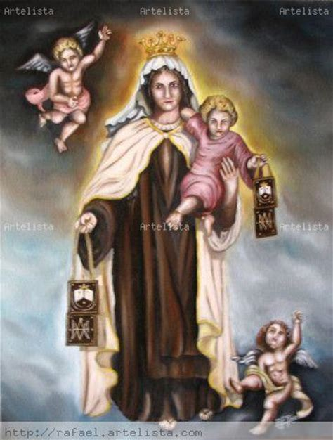 Virgen del Carmen RAFAEL FERNANDEZ JAEN - Artelista.com