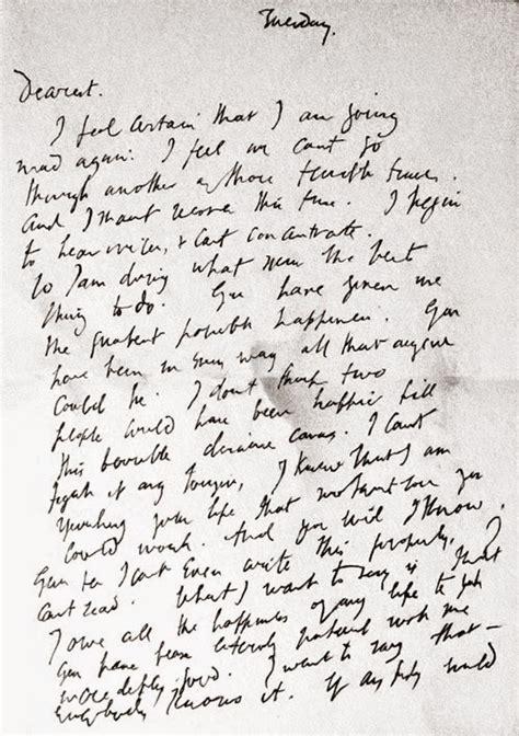 Virginia Woolf, il suicidio, la lettera d'addio | Libri e ...