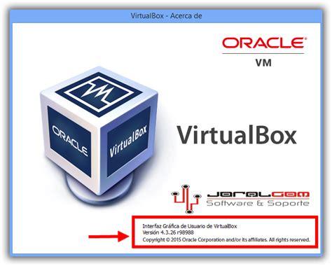Virtual Box Oracle v4.3.26 Utilice Varios Sistemas ...