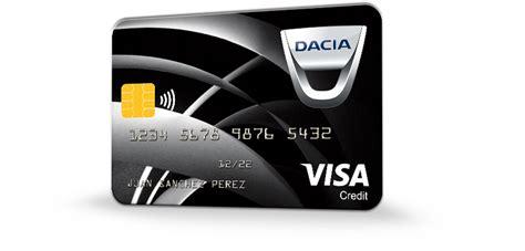 Visa Dacia bankintercard | Bankinter Consumer Finance
